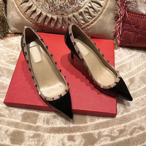 pumps wedding shoes womblackparty fashion rivets girls sexy pointed toe shoes buckle platform pumps wedding shoes womblack white pink color