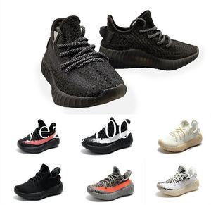 2019 Baby Kid Clay V2 Running Shoes Kanye West Blakc Static 3M Reflective Zebra Beluga 2.0 Boy Girl Sport Sneakers fdzhlzj