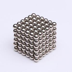 216pcs / комплект 3мм Магия неодимовый магнит Магнитные блоки Шарики Sphere Fun куб головоломка шариков здания игрушки