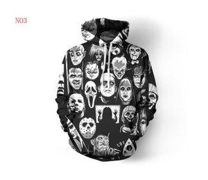 erkek Tasarımcı Kapüşonlular İçin Erkekler Kazak Aşıklar 3D Kafatasları Kapüşonlular Coats Kapşonlu Ogreish Kazaklar Tees Giyim S-5XL Ücretsiz Kargo