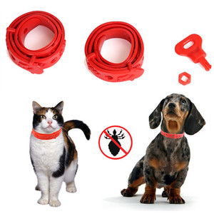 Adjustable Cat Puppy Anti Pest Collar Neck Trap Anti Flea Tick Mite Pet Protection Collar Leash For Cat Dog Skin Health Care