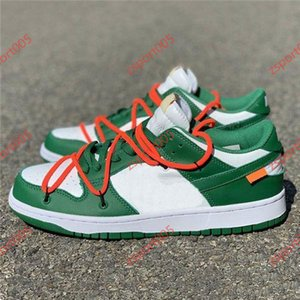 NIKE  OFF-WHITE x Nike Dunk SB Low OW  Vente FUTURA x SB Dunk Low Skateboard Chaussures 2019 Fashion Designer Blue Orange Hommes Femmes Sport Sneakers Casual