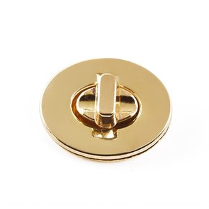 Luggage hardware zinc alloy accessories accessories die-casting electroplating egg-shaped oval lock small round lock