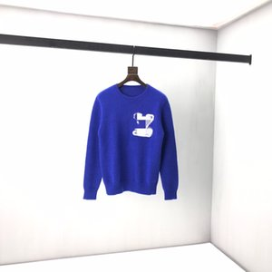 2020 winter new sweater, 60% wool splicing classic size S-XXL available 382