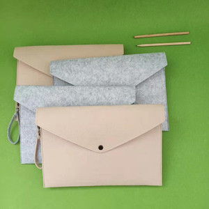 Felt File Folder Documents Envelope Office Briefcase Document Bag Paper Portfolio Case Letter Envelope A4 Folders Filing Supplies GGA3122-2