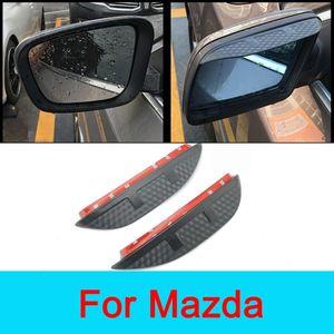 Mazda CX5 2014 Mazda 2 3 5 6 8 CX3 CX4 CX5 CX7 CX9 Temiz İşaret Güvenli Sürüş İçin Araç Aksesuarları Dikiz Aynası Karşıtı Yağmur Shield