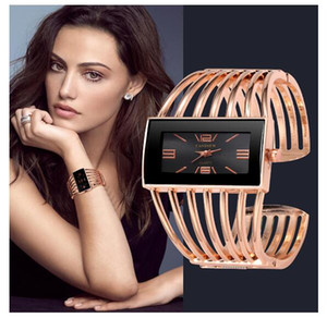 2019 kadın Saatler Bileklik Bileklik Kuvars İzle Kadınlar Gümüş Bilek İzle Gül Altın Kalite Bayanlar Saat reloj mujer zegarek damski Wristwa