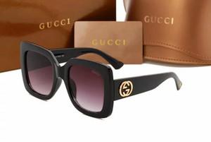 SUMMER Occhiali da donna in metallo Occhiali da sole adulti di lusso da donna Designer di moda di marca Occhiali da sole neri che guidano occhiali da sole 5543