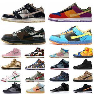 Travis Scotts Fearless safariaj1 Mens shoes Dunk 1s Ben Men Sport SB Low Pro QS Chunky Dunky CU3244-100 Designer Sneakers 35c1xY9jU#