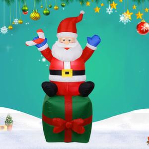 Aire libre inflable Papá Noel de la decoración del Arco de la yarda del jardín del ornamento por DC120