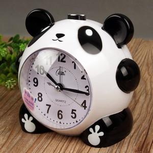 Sveglia orologio panda muto orologio notturno studenti bambini letto sveglia capo