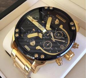 Super Value Luxus Sport Militär montres Mens neue Original reloj große dial dz Uhr dz7331 DZ7312 DZ7315 DZ7333 DZ7311 Kostenloser Versand