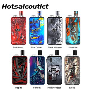 Hugo Vapor Kylin Kit 30W Built-in 1000mAh batteria ricaricabile con 3 ml Pod cartuccia Kylin MTL Mesh Coil 100% originale