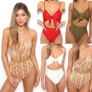 Glane New Women Swimsuit Beachwear Swimwear Push-up Monokini de banho do biquini verão Beachwear Hot Beach Dress Swim Suit
