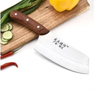 YKC 5cr15mov кухни нержавеющей стали Нож поварской Sharp Японских Кухонные ножи Мясо Фрукты Овощная привлекательнее Кливер Готовит инструменты