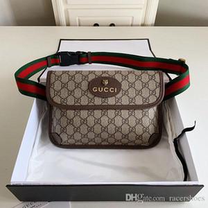 TOP uomini di lusso borsa famose borse zaini Mini in pelle Business Messenger bag di gusto squisito stile pacco petto per la donna con la scatola