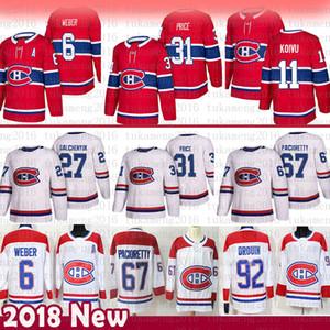 hombres Carey Precio Montreal Canadiens de hockey jerseys 6 Shea Weber Max 67 Pacioretty 27 Alex Galchenyuk 92 Jonathan Drouin 11 Brendan Gallagher
