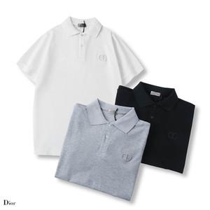 D polo New fashional Polos Mens Women T-Shirts Designershirts Luxury Shirts Women Shirts Summer Tees Short Sleeves Top Quality B20022005T