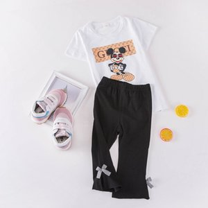 CHILDREN'S Trousers Pure Cotton 2019 New Style Small CHILDREN'S Bow Anti-mosquito ku bao Trousers Leggings