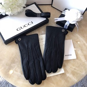 Fashion Mens Driving Gloves Smooth Soft Outdoor Sports Gloves Winter Convenient Phone Playing Screen Touch Gloves