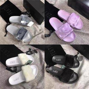2020 L Italien-Entwurf Causal Slippers Mädchen Tian Blooms Print Slide Sandalen Unisex Außen Strand Flip-Flops # 181