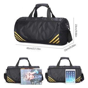 2020 Yoga Pack Sports Bag Large Capacity Fitness Gym Travel Handbag waterproof one-shoulder Messenger bag training package