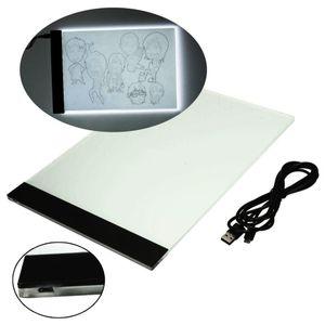 EZLIFE A4 Tracing Drawing Board LED Artist Thin Art Stencil Board Light Box Tracing Drawing Dropshipping