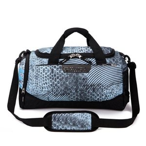 7 цветов Марка Дизайнер вещевые сумки Женщины Мужчины сумки большой емкости для путешествий Duffle сумка Обычная Полосатые Водонепроницаемые сумки плеча спортивные сумки