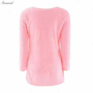Fashion Ladies Fashion Sexy New Sweater Coat Long Sleeve Soft Smooth Warm Drop Shipping Good Quality