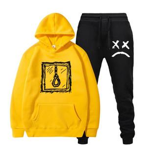 RIP Cry Baby Lil Peep Hoodies Sweatshirt Sweatpant Frauen Men Love Lil.peep Pullover 2 Stück Set Männlich Weiblich Anzug Sudaderas
