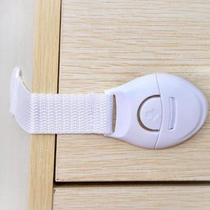 Bloqueo niños cerradura del cajón de seguridad del bebé Adhesivo puerta del armario del gabinete de seguridad del cajón Nevera cerraduras de seguridad cerraduras IIA164