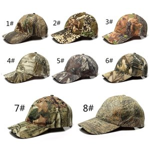 Outdoor Sport Snap back Caps Camouflage Hat Simplicity Tactical Military Army Camo Hunting Cap Hat For Men Adult Cap