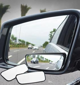 1 زوج بقعة العمياء مرآة زاوية واسعة مرآة 360 درجة تعديل محدب مرايا الرؤية الخلفية سيارة مرآة للسيارات سيارة (التجزئة)
