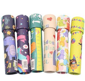 어린이 클래식 종이 만화경 최고의 선물 아이디어 교육 좋아하는 지능 장난감 어린이 생일 파티 호의 또는 장식