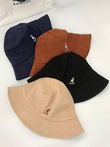 diseñador de los hombres de kangol canguro pescador cuenca del casquillo compartimiento de pana a los diseñadores los sombreros del verano del diseñador parasoles de diseño sombreros de sol para las mujeres