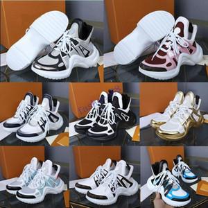Archlight la zapatilla de deporte de lujo diseñador Archlight zapatos casuales para hombre Las mujeres zapatilla de deporte más nuevas de peso ligero diseño en colores mezclados Formadores papá Zapatos