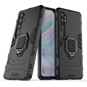Für Xiaomi Redmi Anmerkung 8 Pro 8t 7 6 5 Pro-Kasten-Telefon-Abdeckung 360 Rotating Ring Ständer Auto Magnetfuß Abdeckungs-Fall des neuen Entwurfs Black Panther