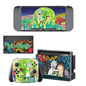 Rick and Morty Nintendoswitch Skin Nintend Switch Vinilo Skin Sticker Decal for Nintendo Switch NS Console Joy-con Controller