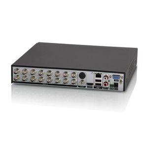 16 채널 AHD DVR 1080P AHD / CVBS / CVI / TVI / IP 5 in 1 하이브리드 DVR 2MP CCTV 비디오 레코더 보안 시스템