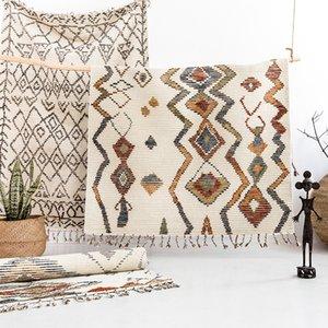 Vision Goût Inde Europe du Nord Moderne Concis Un salon Maroc Mashup Style Manuel Laine Carpetgc193kilyg40
