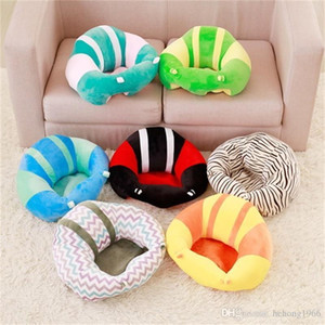 Criativa crianças dormem Pillow Folding Bed Segurança Suave Car Seat Cushion portátil Sofá Plush Toys Bebê Cadeira de Aprendizagem Crianças sono Pillow 40mb2
