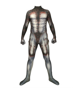 oHkye Blood fighter Tight Pants Predator Cosplay conjoined tights Halloween Zentai suit Blood fighter Tight Pants clothing Predator Cosplay