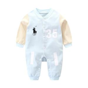 0-1 سنة طفل رضيع ملابس رومبير صبي وفتاة مجموعة قاع دافئ بذلة لطيف القطن طفل رضيع ملابس رومبير