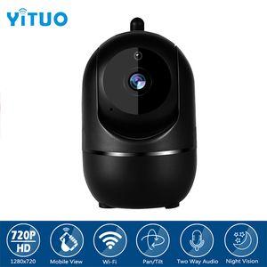 720P 무선 IP 사진기 구름 Wifi 사진기 똑똑한 자동 추적 인간적인 주택 안전 감시 CCTV 네트워크