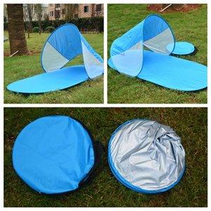 Automático de camping Parasol tienda de la playa al aire libre Viajes Pop refugios del pabellón de verano Tent 4 colores AAA378