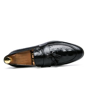 Lefu ayakkabılar erkek deri dış ticaret büyük Lefu ayakkabı 2020 İngiliz deri ayakkabılar nefes dış ticaret deri