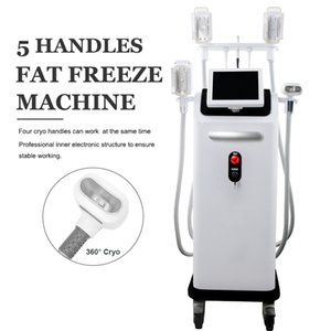 4 Handles Fat Freeze Cryo Slimming Machine Best Cellulite Treatment Cryolipolysis Ultrashape Lipo Fat Removal Belt Reduction machines