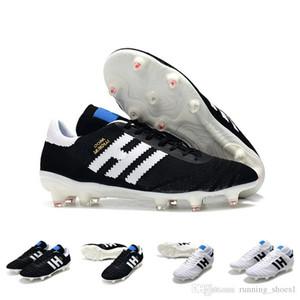 Adidas Botas de fútbol Hombre Primeknit Copa Mundial Leather FG Socce Zapatos Hombre 70Y FG Botines de fútbol Negro Blanco botines futbol Barato