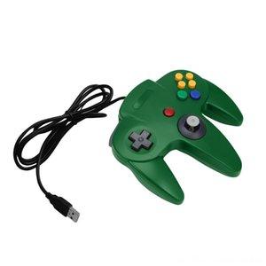 Новый USB Проводная Gaming Gamer геймпад Компьютер PC Gaming Controller Для Windows Для Mac 5 цветов Дополнительно Игровые манипуляторы Джойстики Game Acc