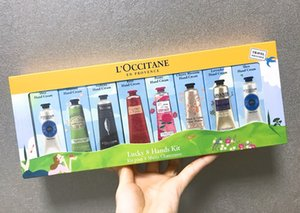 Hot Lucky 8 Kit mains EN PROVENCE Crème pour les mains Lotion Coffret Cadeau 30ml * 8 mains soin de peau